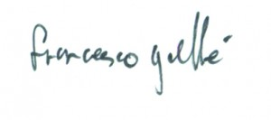 francesco g signature