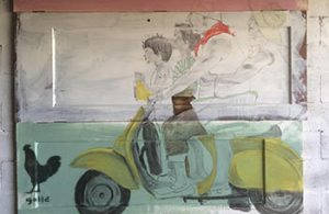 "Story Behind The Print: The Polar Bear Canadian Flag | ""family on a vespa"" 
