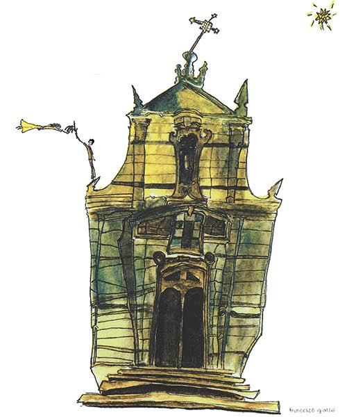 """The Story Behind The Print: The Church Of Serra San Bruno 