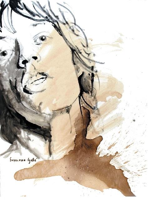 Mick Jagger Art | Francesco Galle Art | Toronto Artist