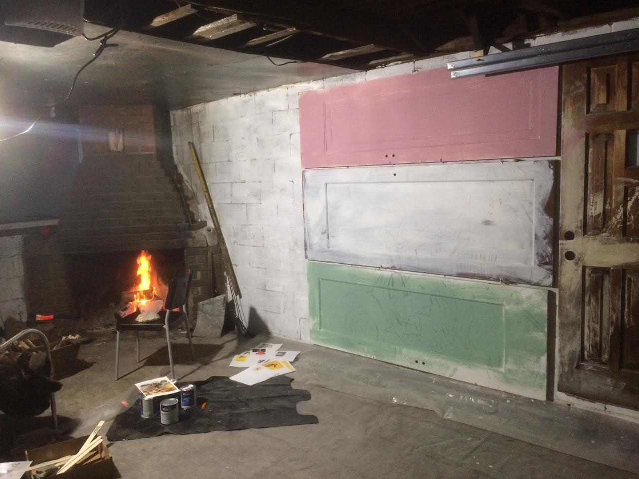 Studio where inspiration comes from | Francesco Galle | Artist In Toronto